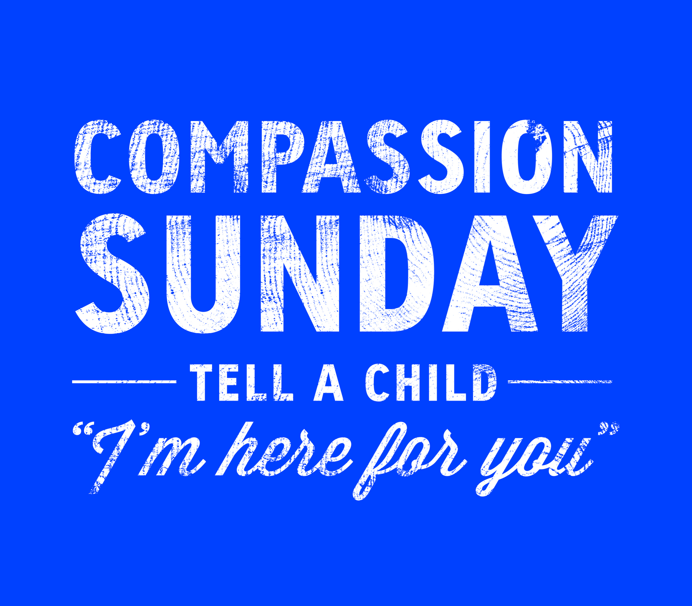 Compassion For Each Other: Compassion Day 2014