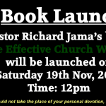 Pastor Richard Launches His First Book on 19/11/2016