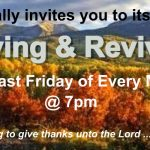 Monthly Thanksgiving & Revival Services
