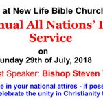 All Nations' Day 2018
